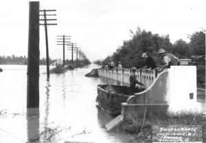 flood at aitchletz bridge
